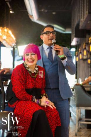 Interview Zandra Rhodes