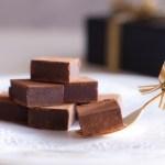 生チョコを材料2つで簡単に失敗しないコツと綺麗にうまく切る方法