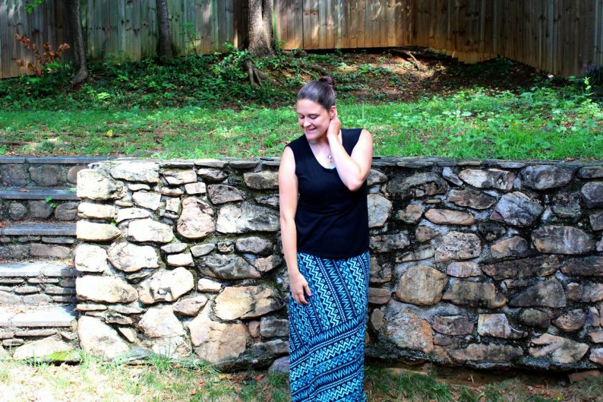 Mom Style - Maxi Skirts and Tribal Prints
