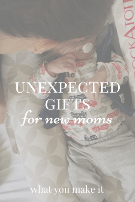 Unexpected Gifts for New Moms with Dock-A-Tot #spon