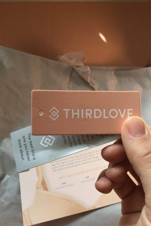 an unsponsored review of thirdlove