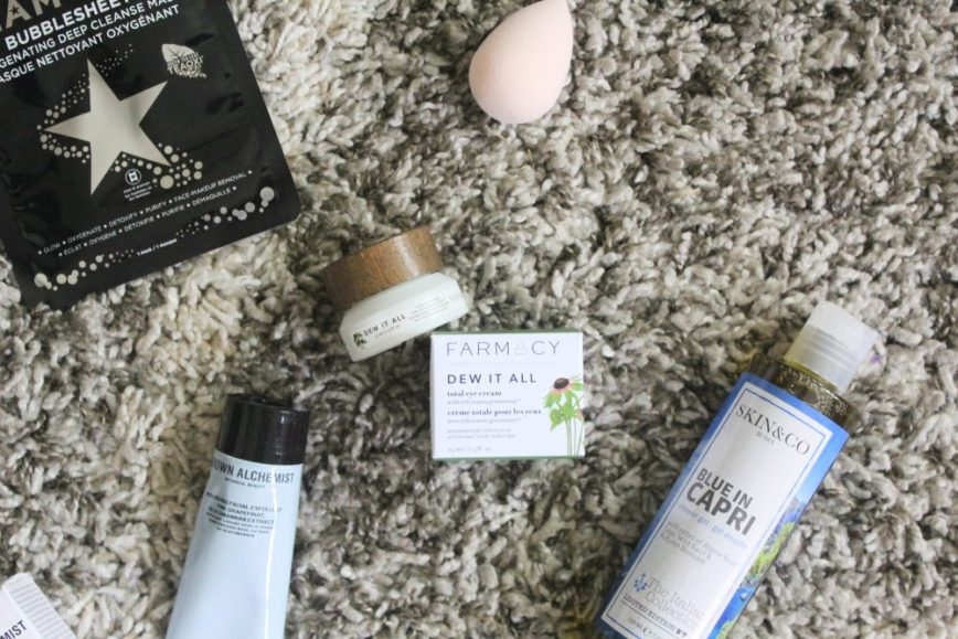 fabfitfun fall 2018 review - full spoilers - promo code - coupon - products and add-ons - unboxing - subscription box - What You Make It blog