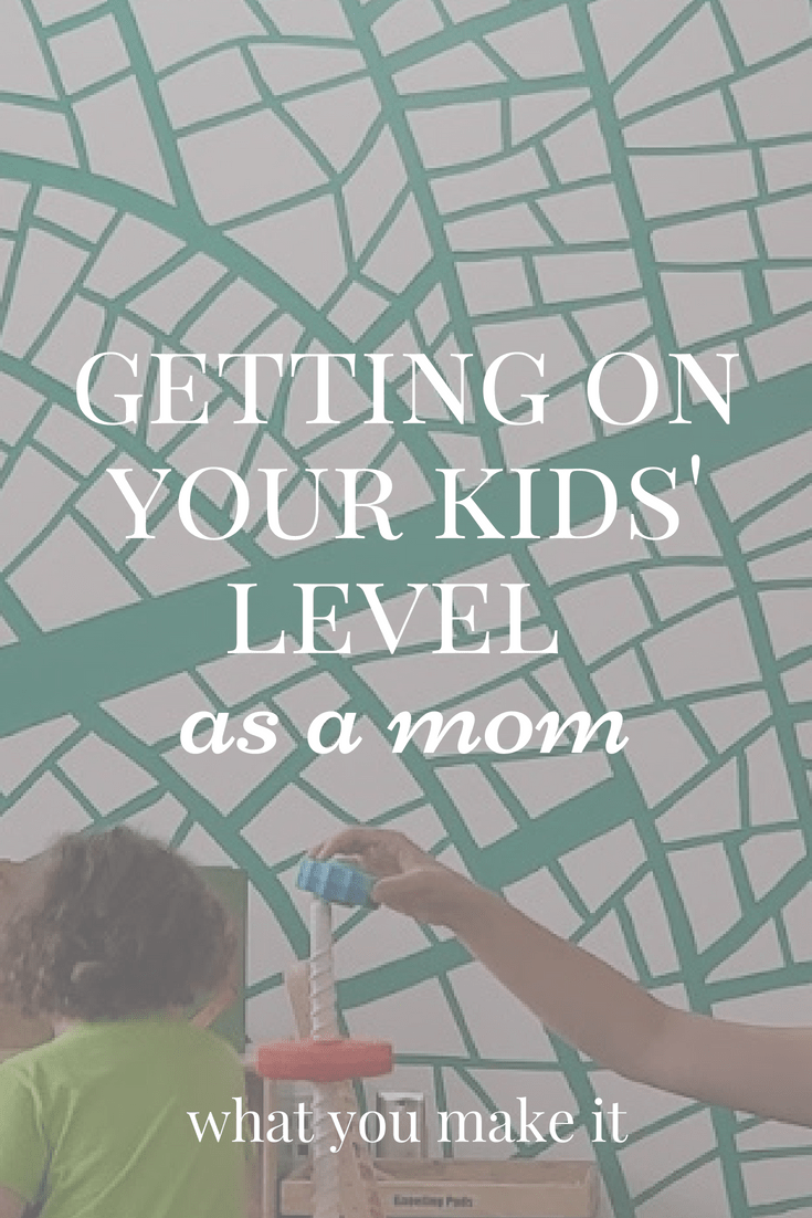 motherhood - being a patient mom - mom advice - training small children - guiding your kids - mom blog - What You Make It blog