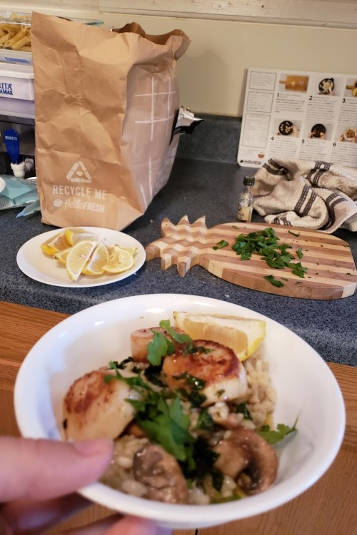 hello fresh box: an unsponsored review