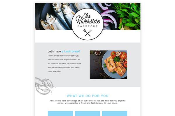 Design Riverside restaurant Newsletters jpg 600x600