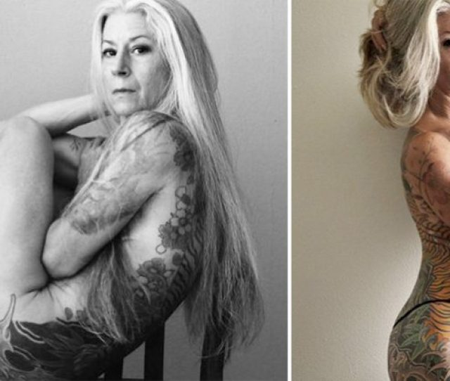 57 Year Old Woman Breaks Down Traditional Beauty Stereotypes By Her Sexy Portraits