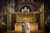Becky and Will - High Altar, Chester Cathedral