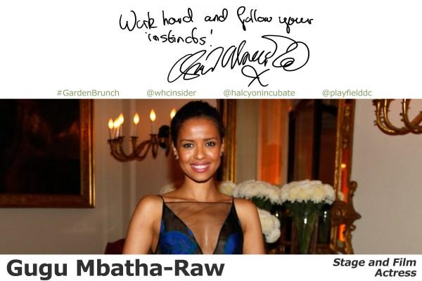 Gugu Mbatha-Raw