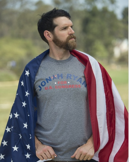 Jonah Ryan for Congress Exclusive T-Shirts