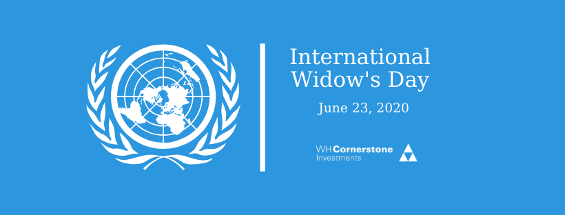 international widow's day 2020 wh cornerstone
