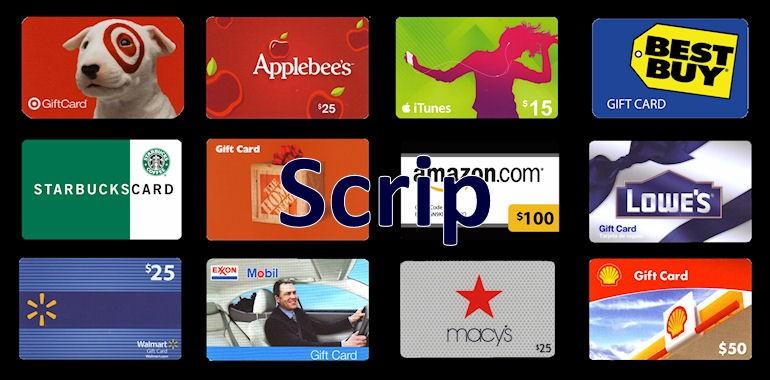 SCRIP Orders Due Tomorrow – Friday, Sep. 30