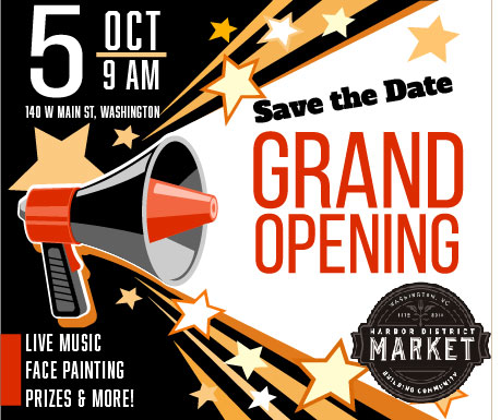 HDM Grand Opening Save Date