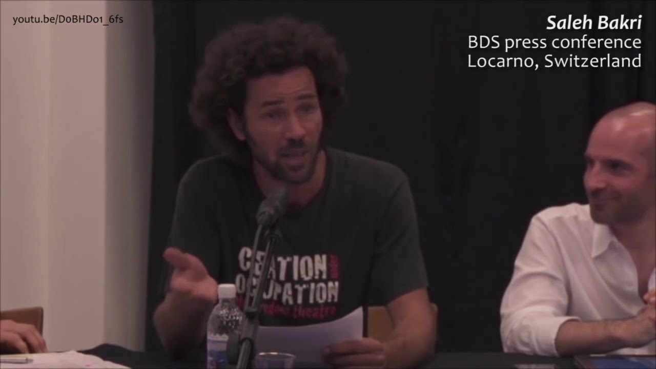 Response to Popkultur Berlin: Saleh Bakri at BDS Press Conference