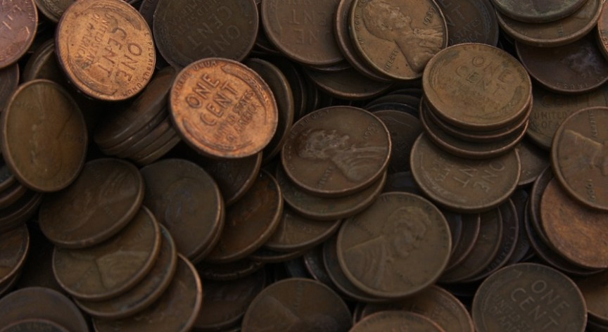 THE VALUE OF WHEAT CENTS