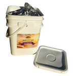Food Storage Bucket with Mylar Lining