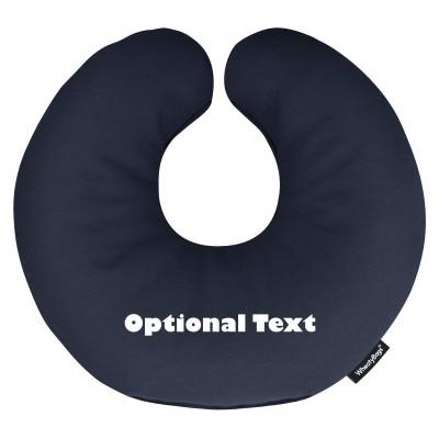 u shaped buckwheat neck pillow with organic options