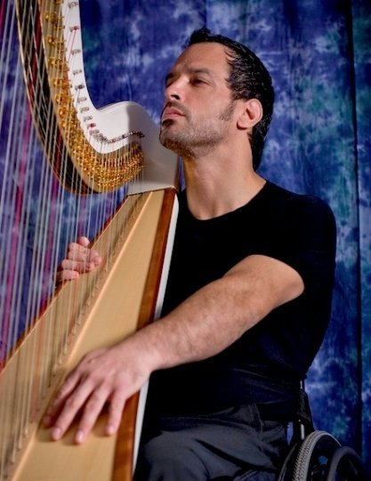 From Heavy Metal to Harps: Paraplegic George Flores Rocks as He