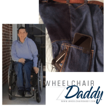 Gift-ideas-for-the-wheelchair-user | wheelchair-accessories-jeans