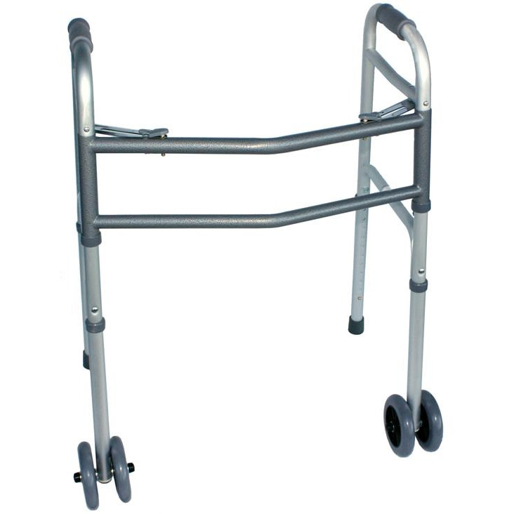 WM1006B - BARIATRIC FOLDING FRAME. DUAL FRONT WHEELS ( 4 )