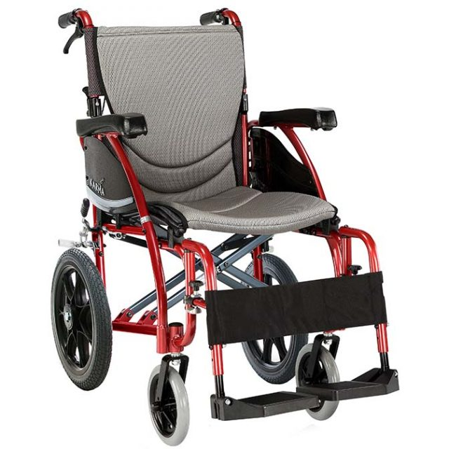 WM2000T - KARMA S-ERGO 125 TRANSIT WHEELCHAIR