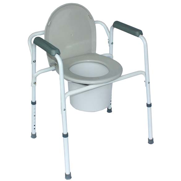 COMMODE – OVER-TOILET FRAME – Wheelchair Man (Australasia) Pty Ltd