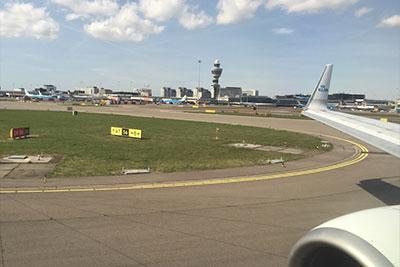 KLM Airplane at Amsterdam Schiphol