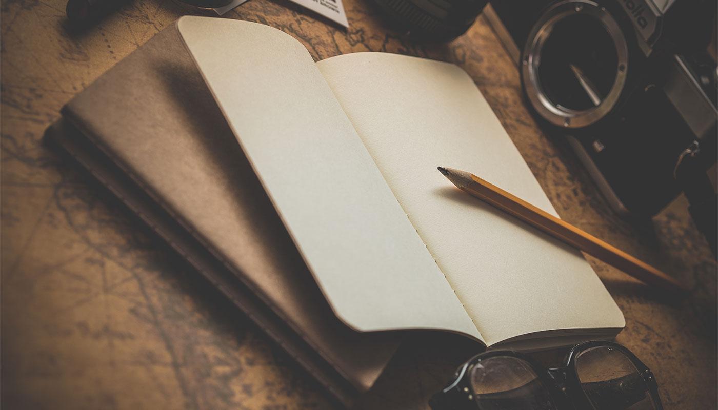 Bucket List notepad