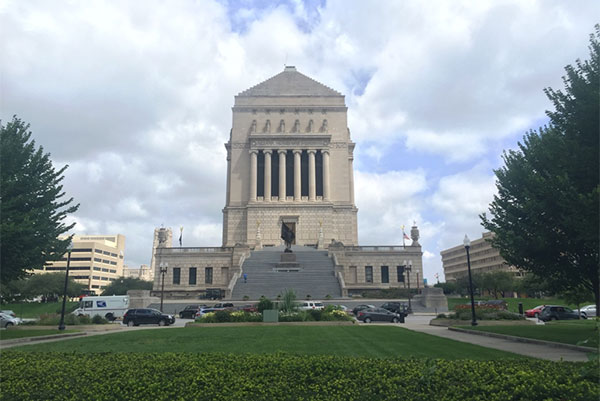 Indiana War Memorial Museum Wheelchair Accessibility Review