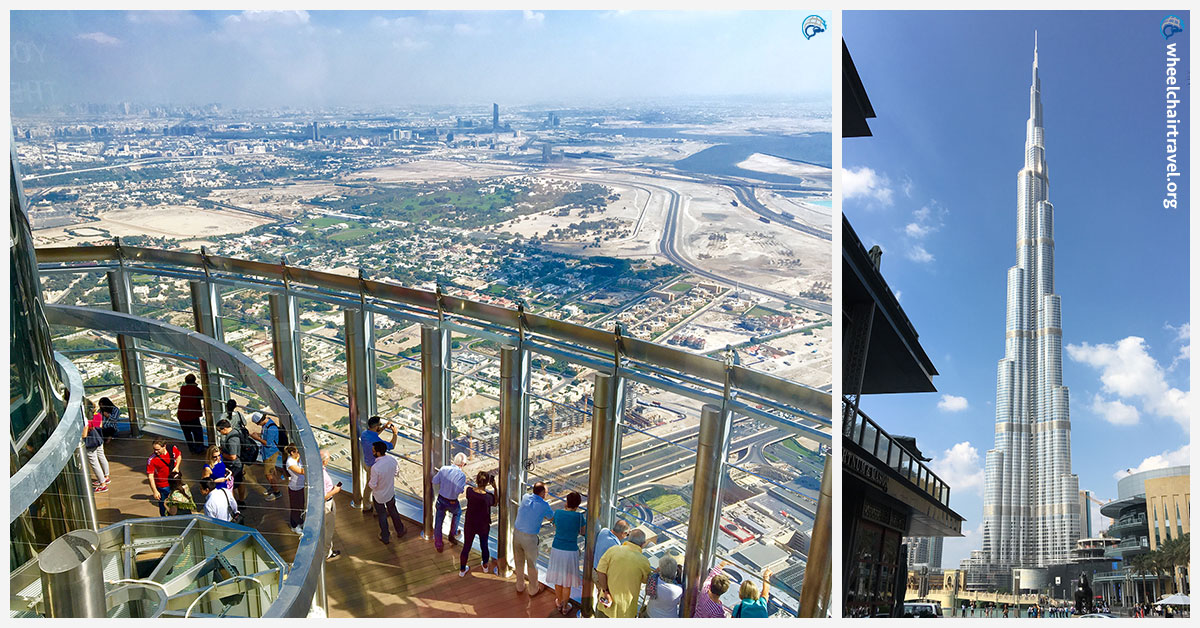 Burj Khalifa Wheelchair Access Observation Deck