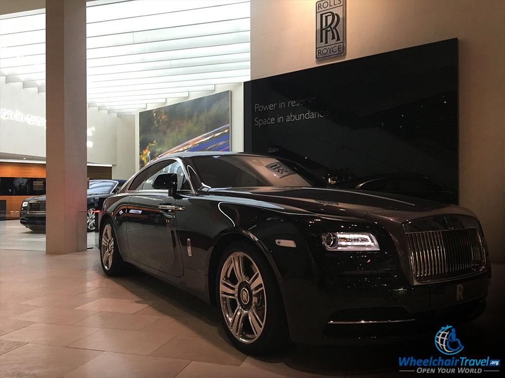 BMW Welt Rolls Royce Display