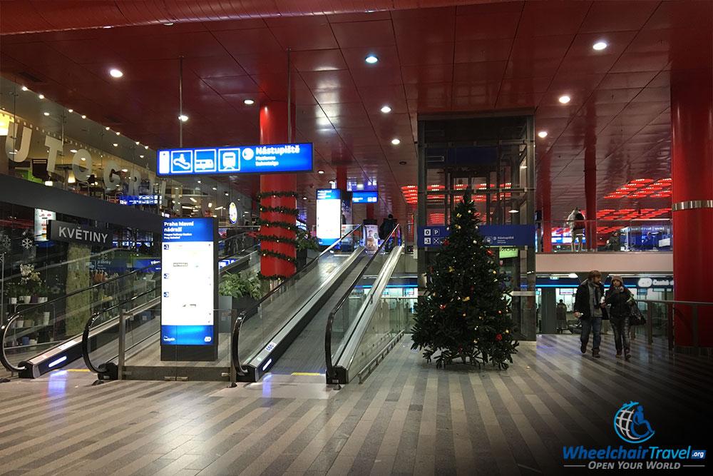 Prague Hlavni Nadrazi Central Train Station