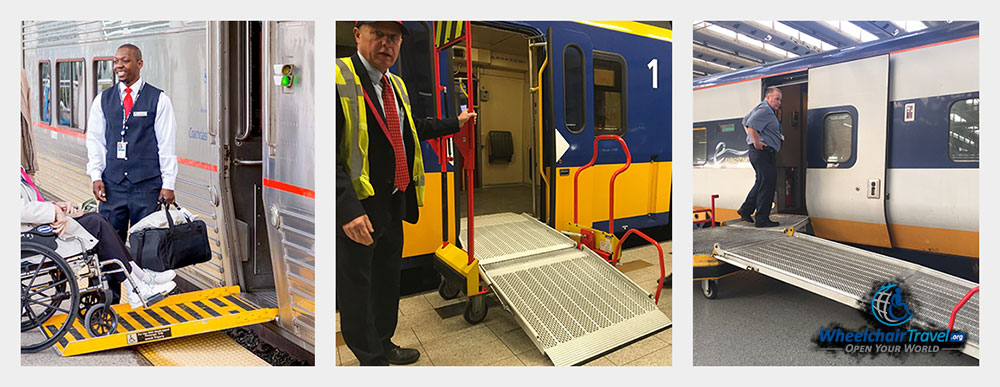 Wheelchair Boarding Ramps for Trains