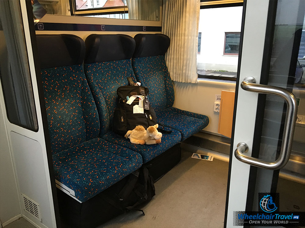 ALEX Train Wheelchair Accessible Passenger Cabin