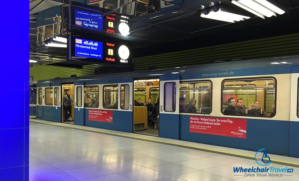 Munich Wheelchair Accessible Public Transportation