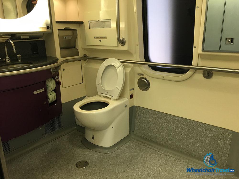 Amtrakacelabathroom WheelchairTravelorg - Bathrooms on amtrak trains