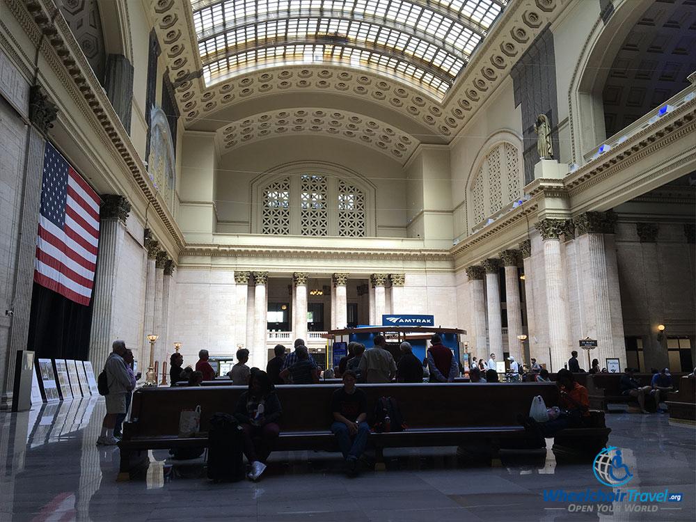 PHOTO: Interior of Chicago's Union Station.