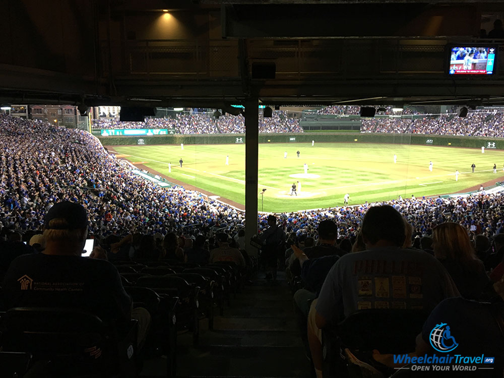 Chicago Subway Map Wrigley Field.Accessible Gameday Chicago Cubs Baseball At Wrigley Field