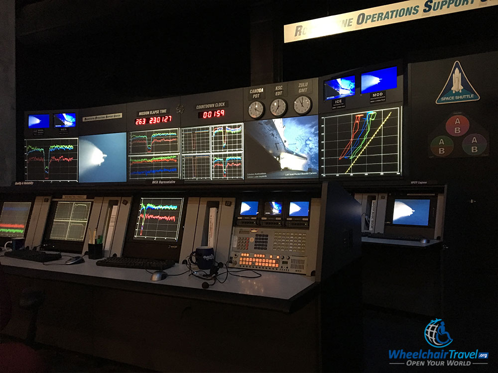 Equipment from the Rocketdyne Operations Support Center.