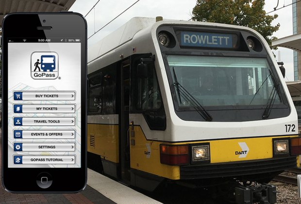 Dallas DART Public Transportation GoPass Mobile App