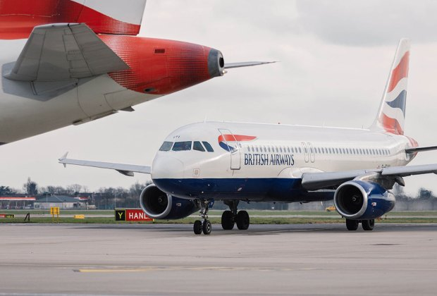 Fly British Airways with a wheelchair.