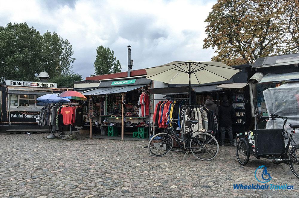Souvenir shop in Christiania