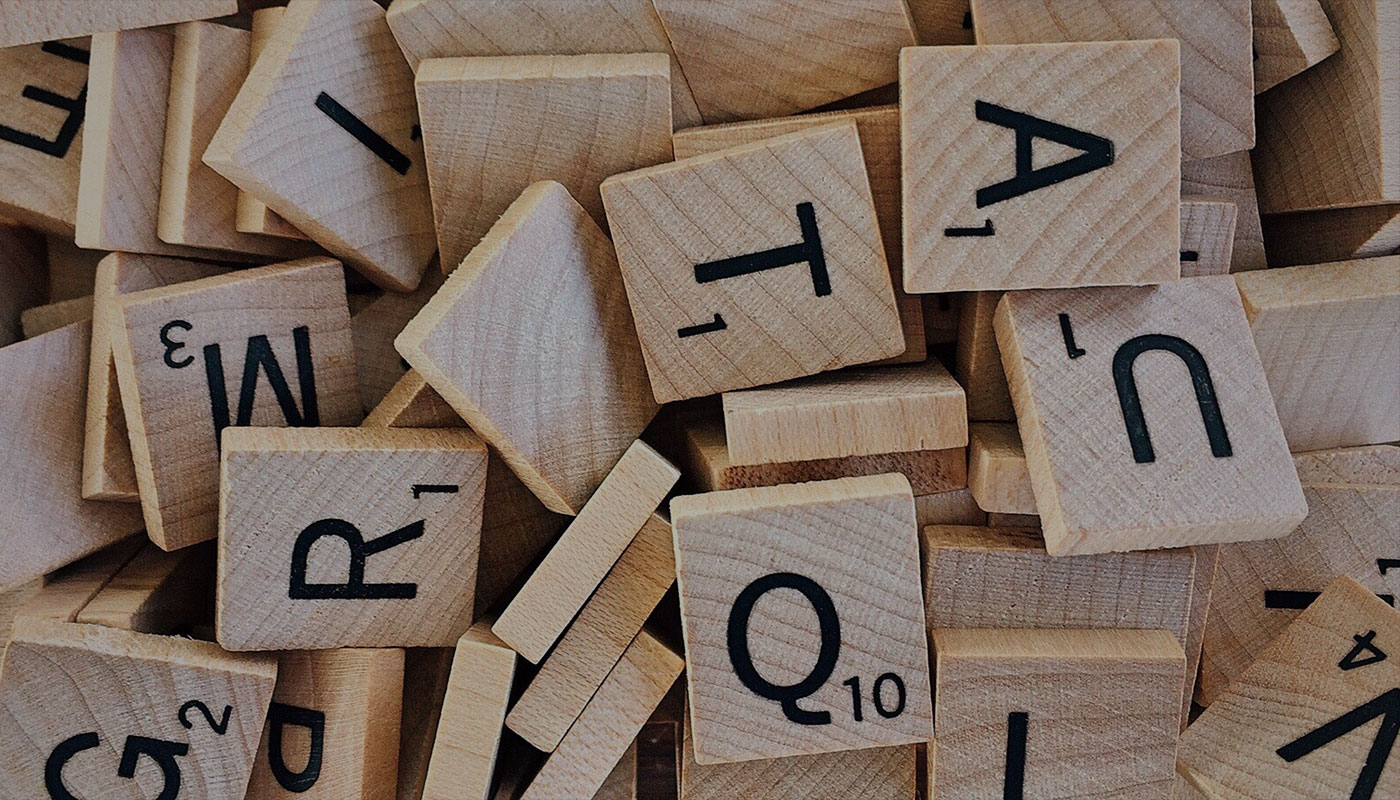 Letters form keywords in the disability lexicon
