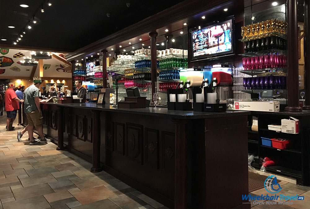 Medieval Times drink bar