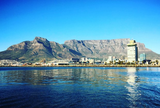 Table Mountain in Cape Town, South Africa