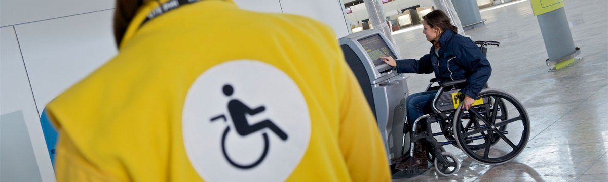 Disability Assistance at the Airports requires tickets to be labeled with SSR codes.