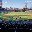 Wheelchair accessible Philadelphia Phillies game.