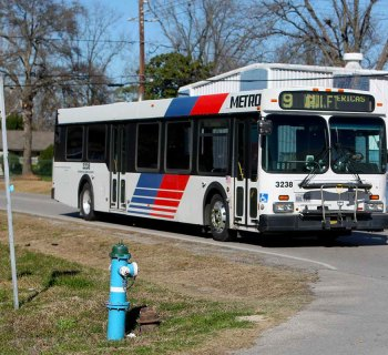 Houston Metro City Bus stops will get beacons to alert blind riders of stop locations.