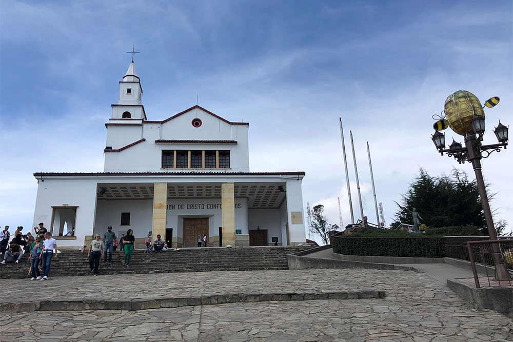 Catholic Sanctuary at the top of Monserrate Hill.