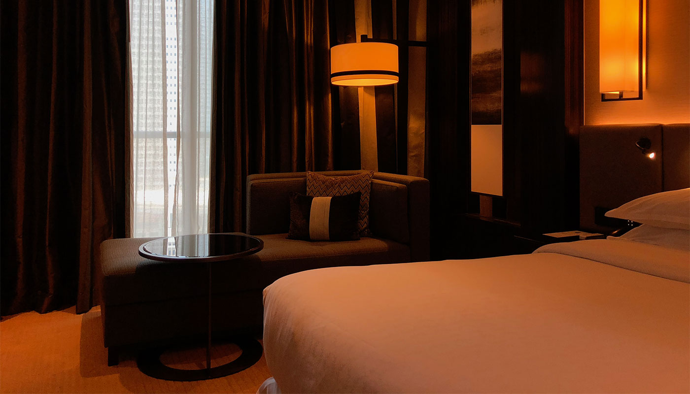 Wheelchair Accessible Sheraton Grand Hotel Dubai.