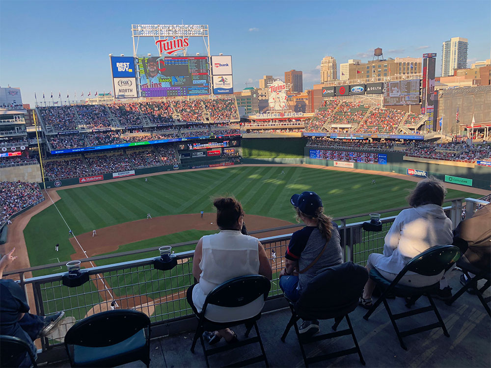 ADA seats in the Home Plate Terrace.